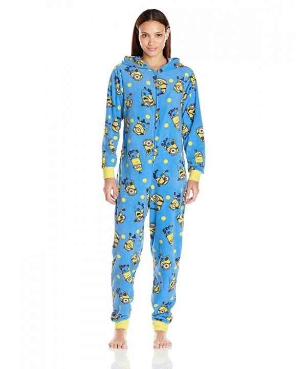 Universal Womens All Over Minions Onesie