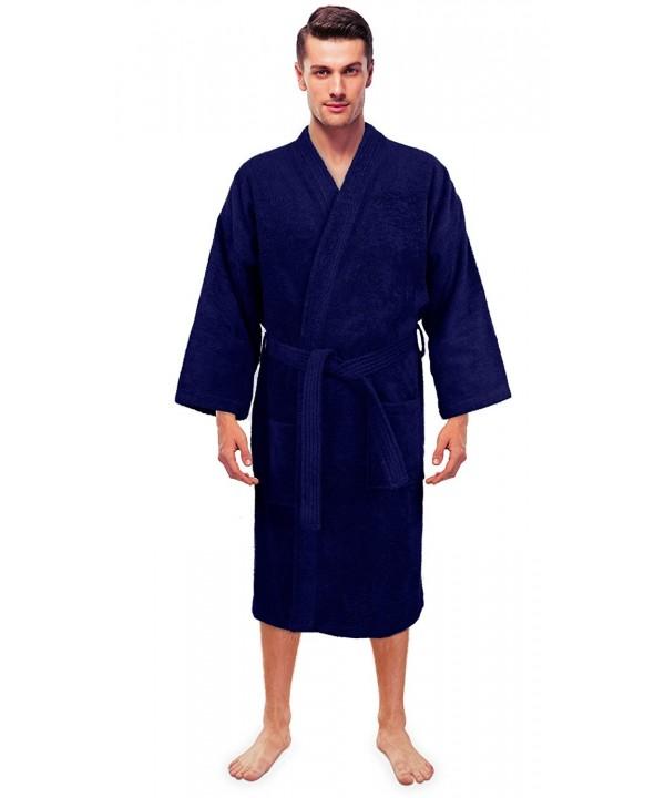 Turkuoise Terry Premium Kimono Collar