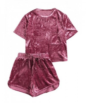 MakeMeChic Womens Vintage Velvet T Shirt