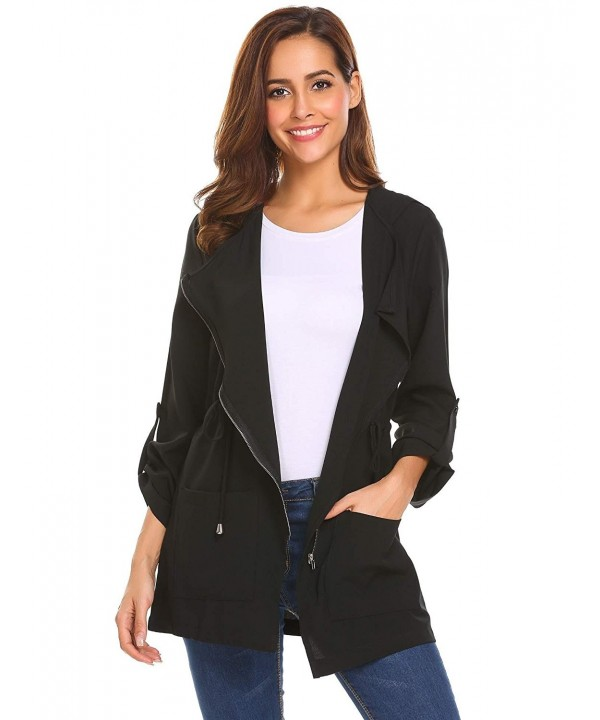EASTHER Pockets Lightweight Jackets XX Large