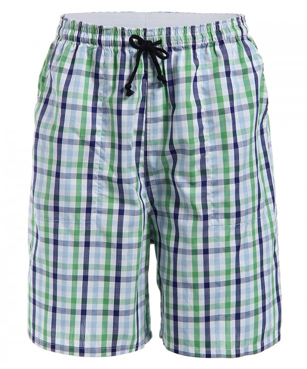 Latuza Cotton Plaid Lounge Shorts