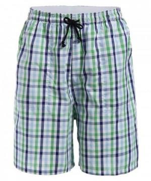 Latuza Cotton Plaid Lounge Shorts