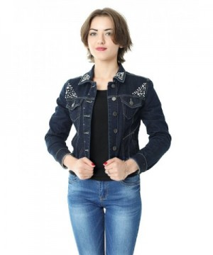 ASK JEANS Womens Denim Jacket