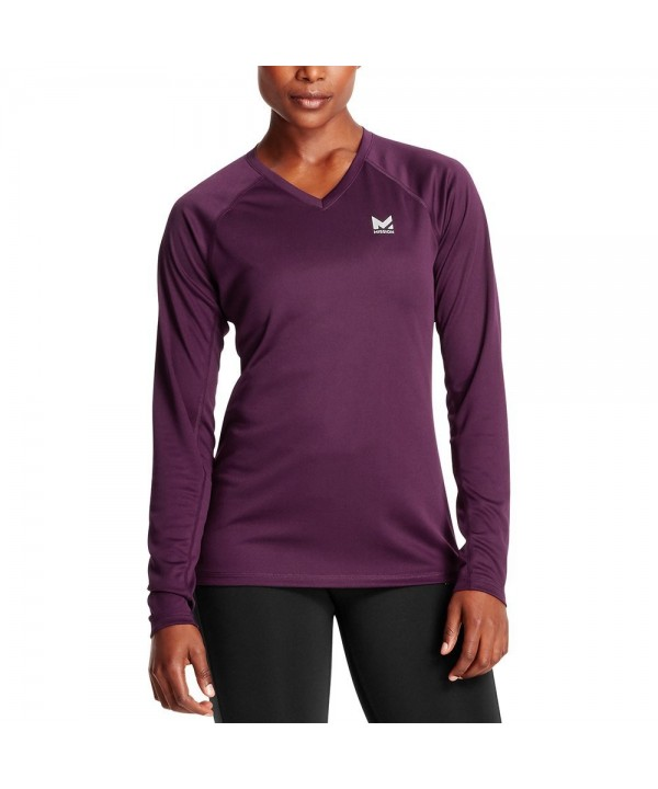Mission Womens VaporActive Sleeve Potent