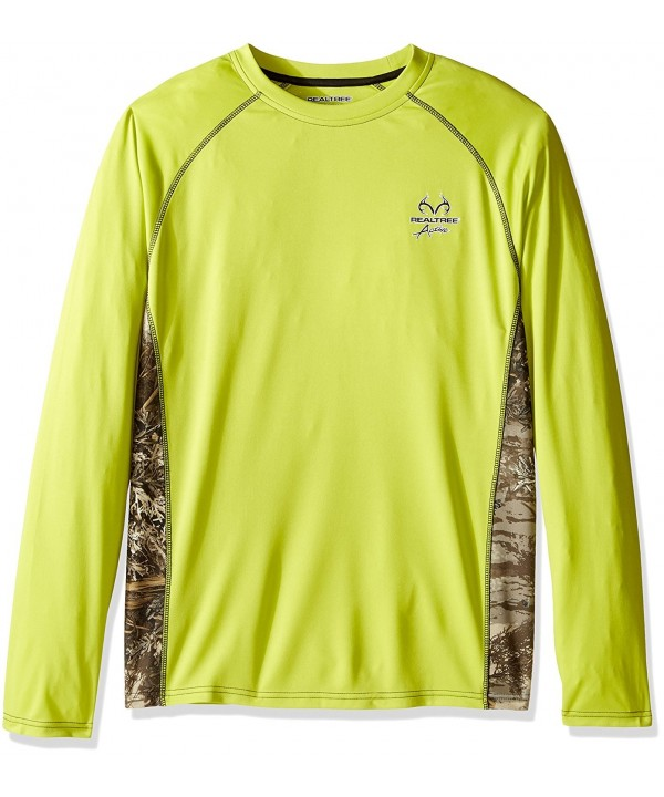 Realtree Sleeve Performance Ventilated T Shirt