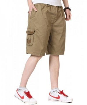 Tanming Casual Elastic Length Shorts