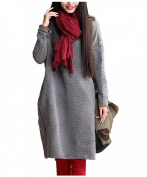 Casual Cotton Cocoon Autumn Sleeve