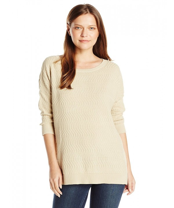 Sag Harbor Womens Stitch Sweater