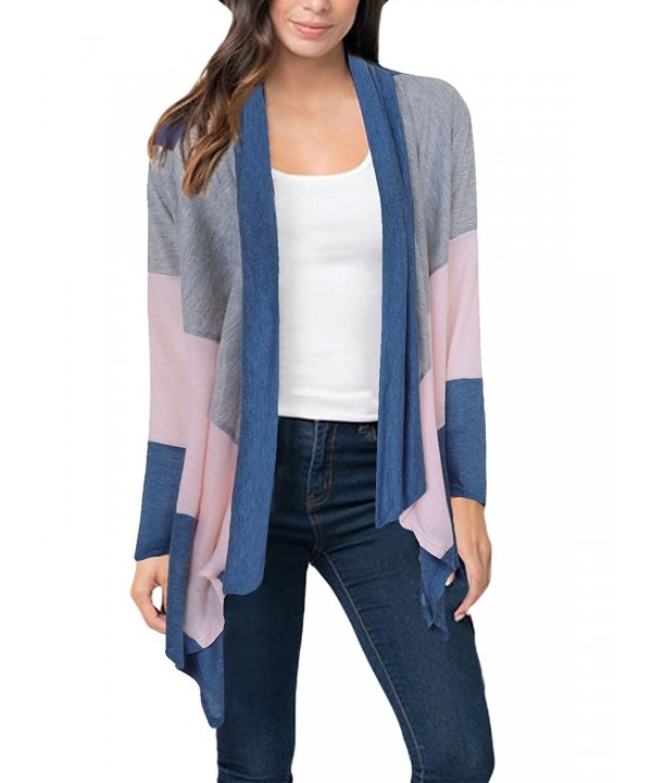 Ktrend Womens Sleeve Cardigan Sweater