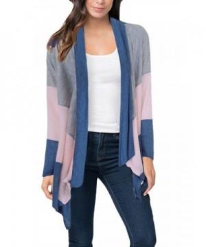 Ktrend Womens Sleeve Cardigan Sweater