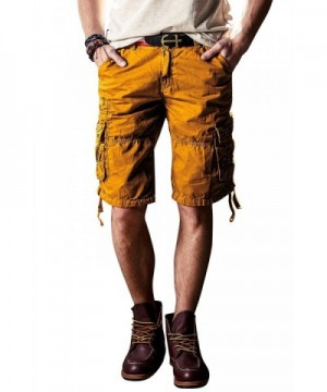 INFLATION Shorts Cotton Casual Pockets