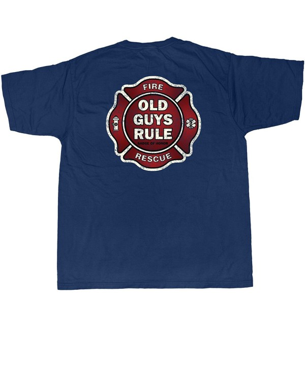 Old Guys Rule Fireman Medium