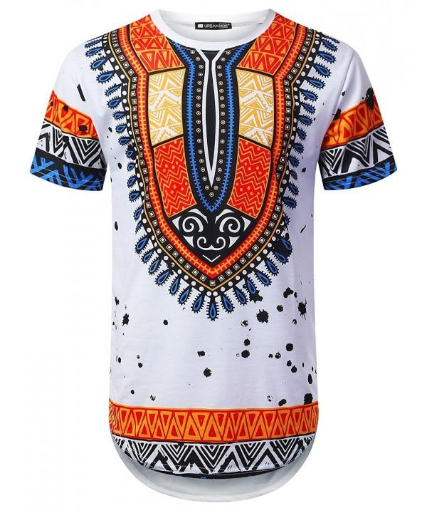 URBANTOPS Hipster Dashiki Longline T Shirt