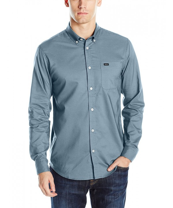 RVCA Thatll Oxford Sleeve X Large