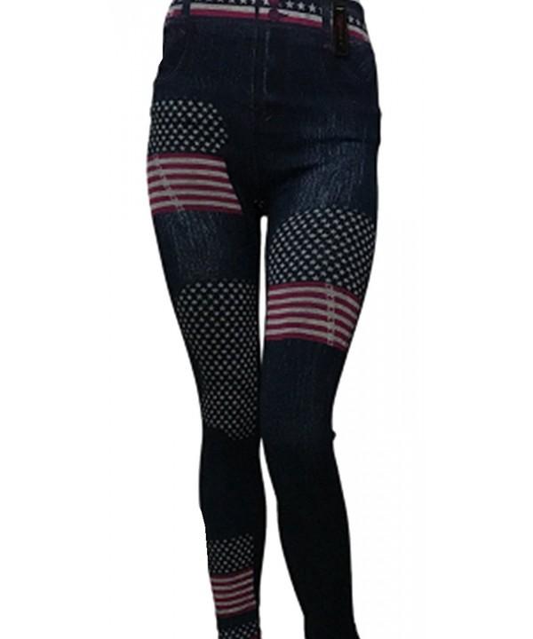 KimBeily American Jeggings Slimming Legging