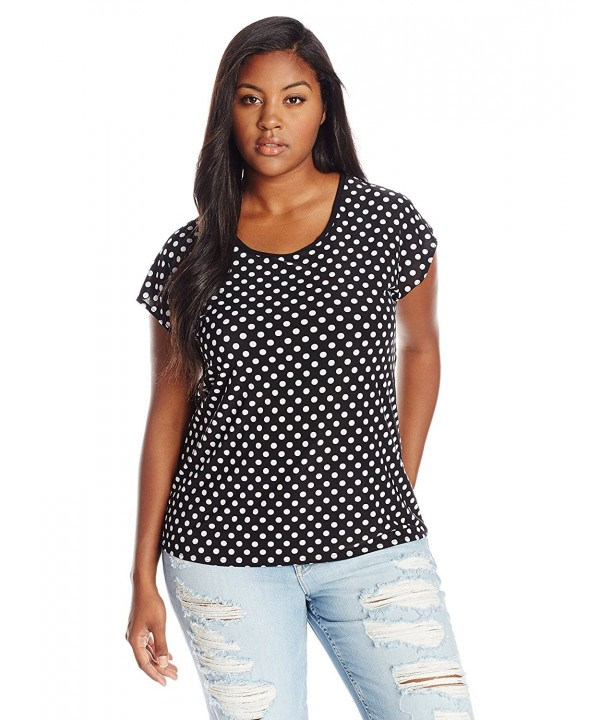 Star Vixen Womens Plus Size Keyhole