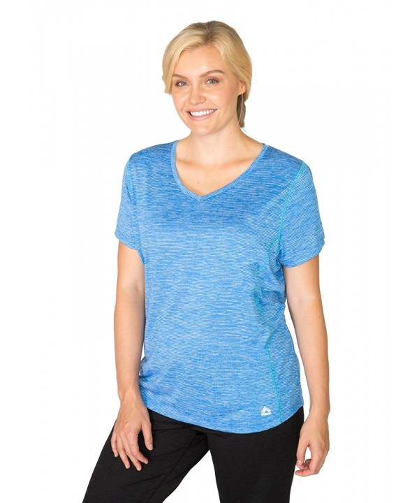 RBX Active Womens Sleeve Striated