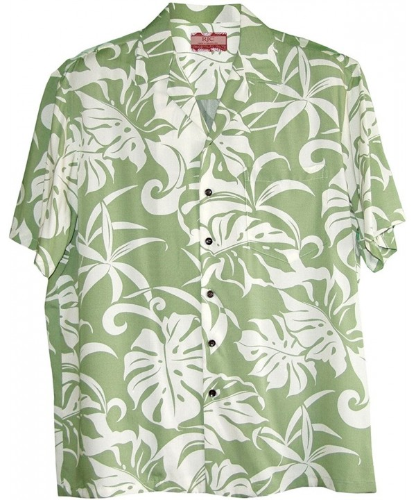 Beachside Breeze Rayon Hawaiian Shirt