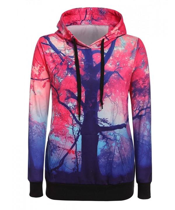 CNlinkco Sweatshirt Fashion Lightweight Pullover