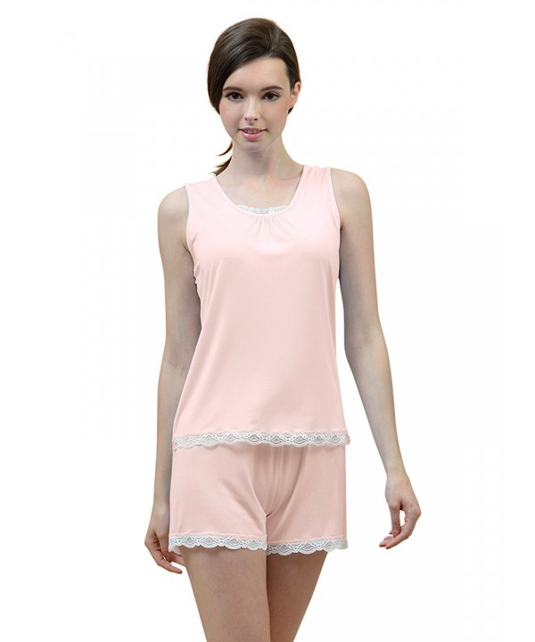 SIORO Sleepwear Lightweight Sleeveless Nightshirts