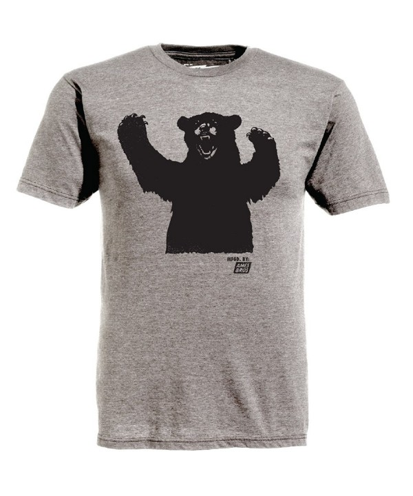 Ames Bros Bear T Shirt Size