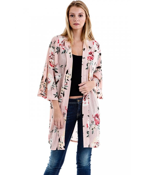 Frumos Womens Cardigan D Blush X Large