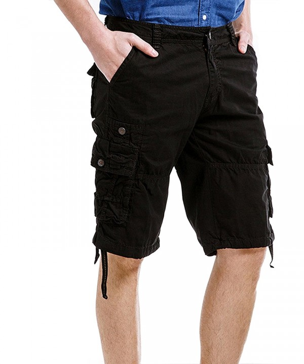 Summer Casual Cotton Muti Pocket Shorts
