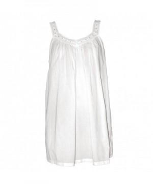 Irish Linen Store Nightgown White