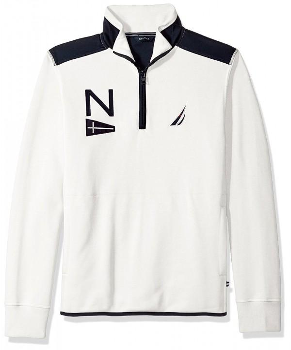 Nautica Sleeve Heritage Sweatshirt Marshmallow
