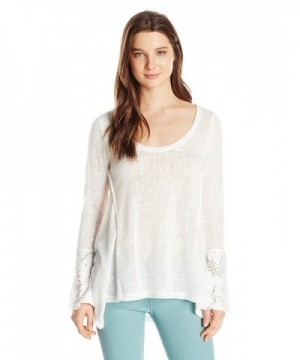 Lucy Love Womens Sleeve White