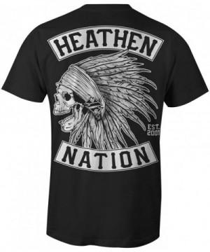 Heathen Mens Chief T Shirt Large