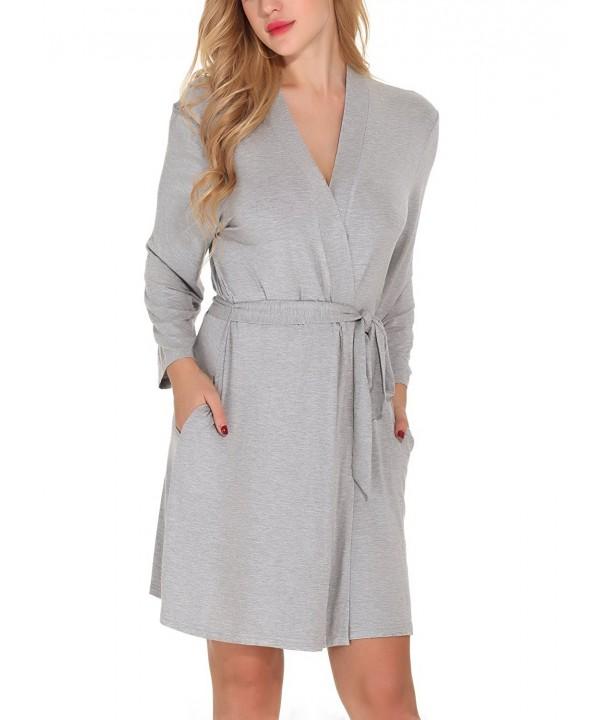 Etopstek Bathrobes Kimono Loungewear Sleepwear