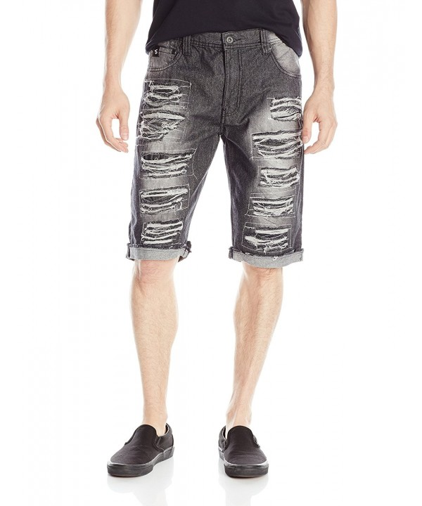 Southpole Shorts Multiple Horizontal Cuffing