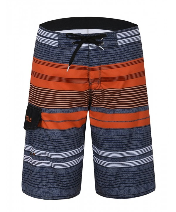 Nonwe Stripe Quick Board Shorts
