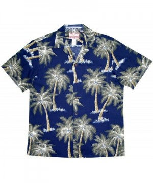 COCONUT TREES HAWAIIAN ALOHA SHIRT