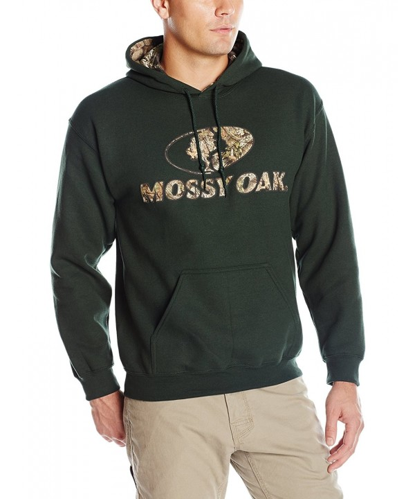 Mossy Oak Camo Lined Hoodie Forest
