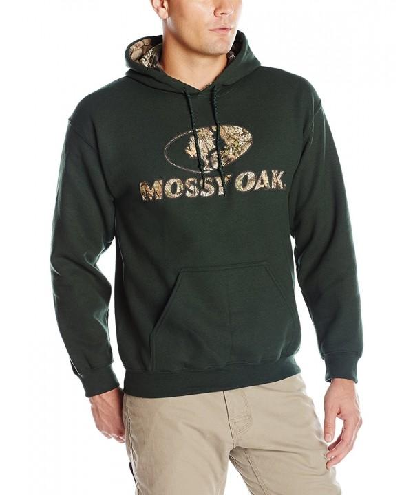Mossy Oak Camo Lined Hoodie Forest