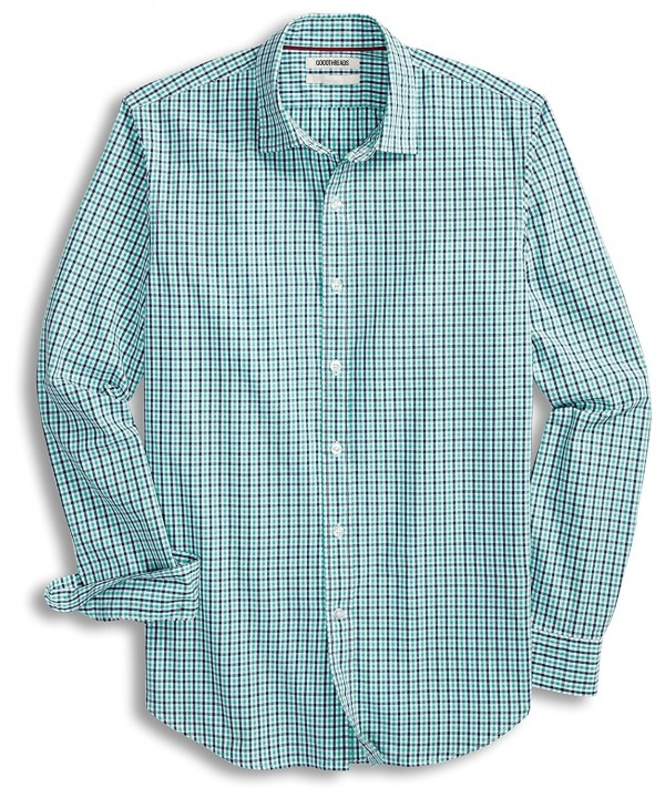 Goodthreads Slim Fit Long Sleeve Two Color Gingham