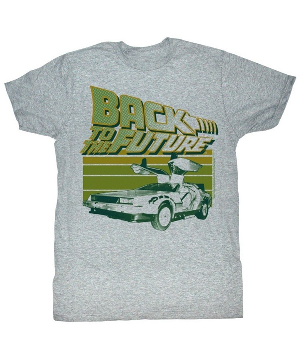 Back Future Flight T Shirt Heather