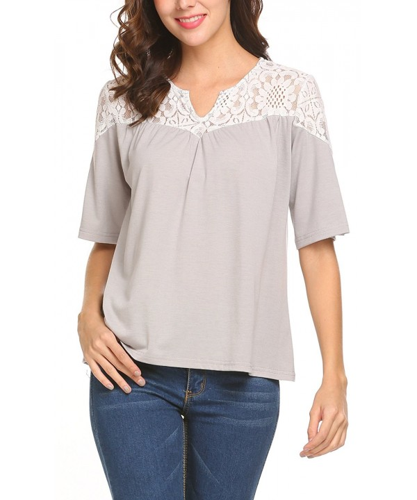 Sweetnight Women Gentle Blouse Sleeve