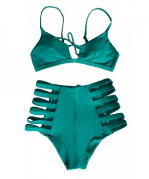 Cupshe Fashion Strappy High waisted Swimsuits