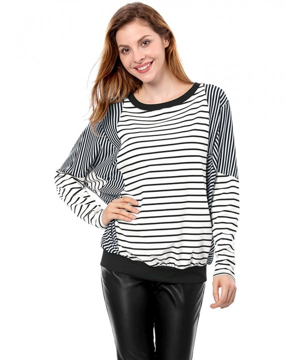 Allegra Women Winter Stripe Batwing