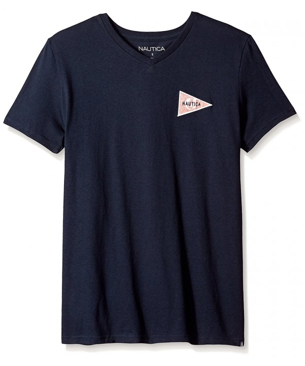 Nautica Short Sleeve Cotton T Shirt