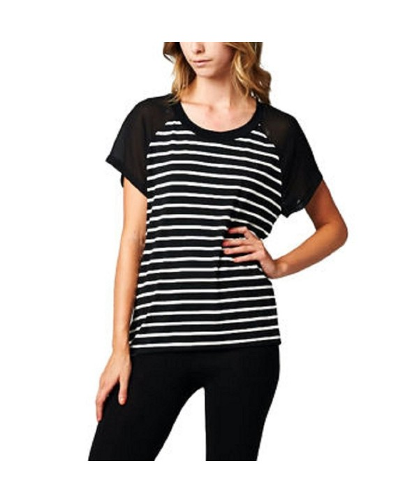 West Kel Womens Striped Blouse