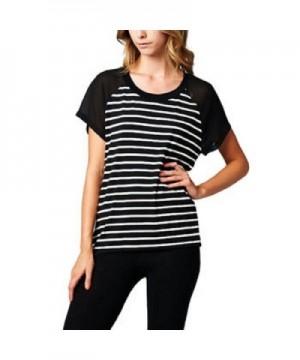 West Kel Womens Striped Blouse