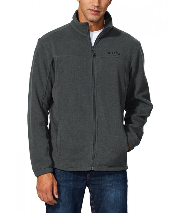 Baleaf Mens Outdoor Fleece Jacket