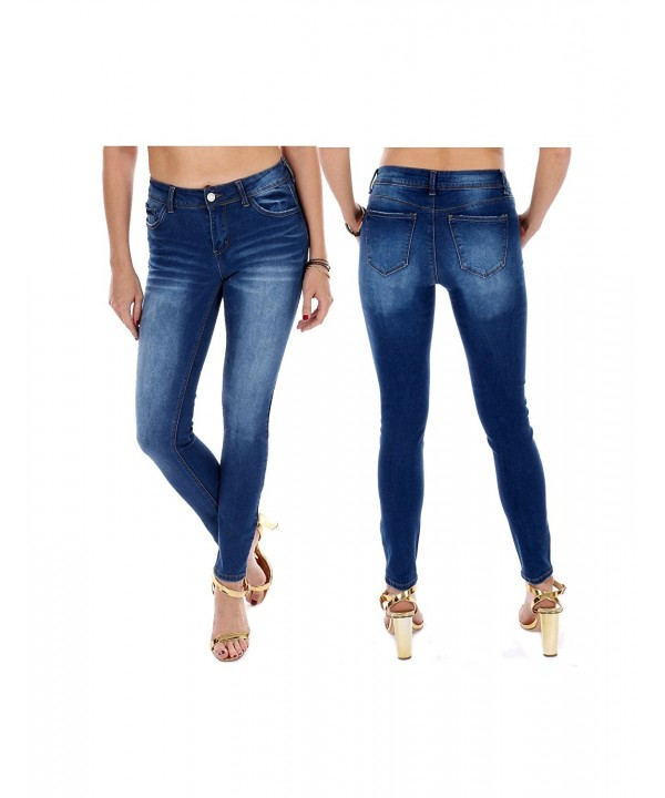 Collection Womens Stretchy Washed Length