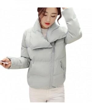 Mojessy Womens Zipper Overcoat Outwear