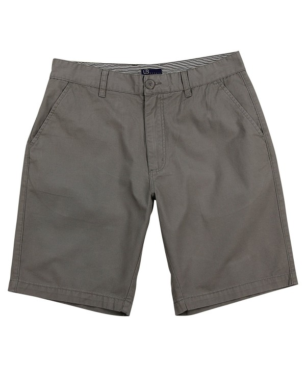 Mens Front Chino Shorts Inseam
