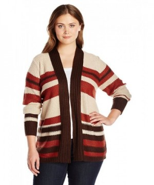 Jason Maxwell Womens Stitch Cardigan